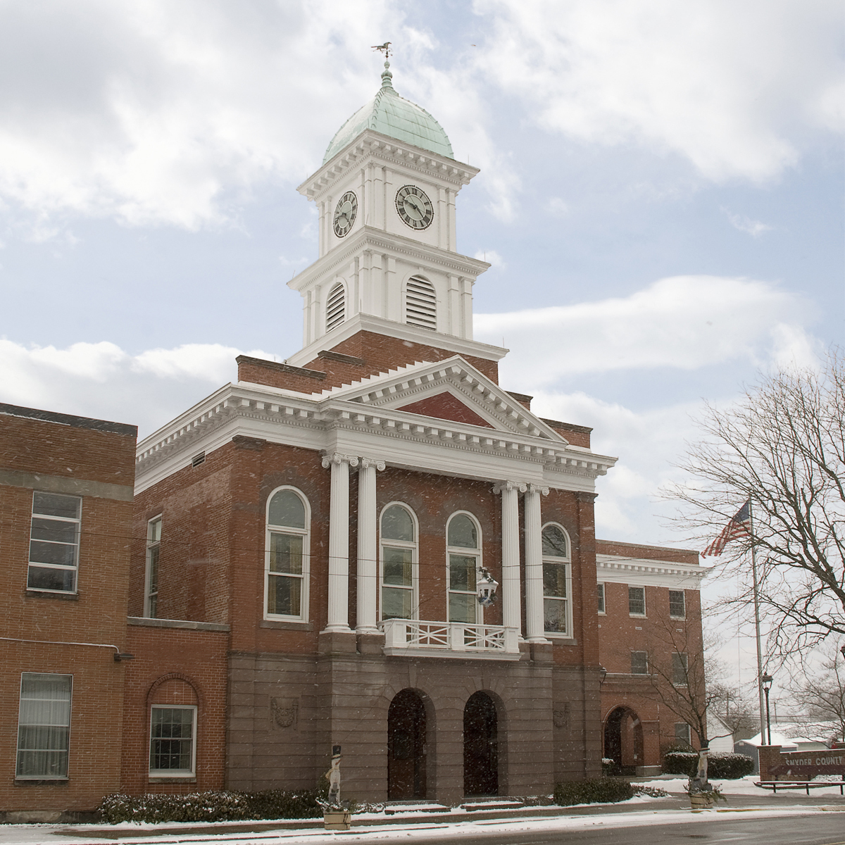 Snyder County Courthouse, Middleburg, PA